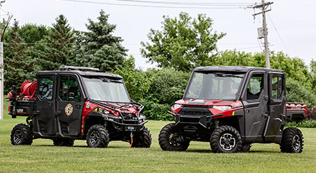 Polaris Brings Fire and Rescue RANGER, PRO XD, GEM  and Taylor-Dunn Vehicles to FDIC