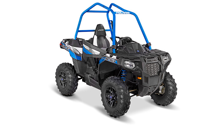 POLARIS® ACE® 570 SP TITANIUM MATTE METALLIC