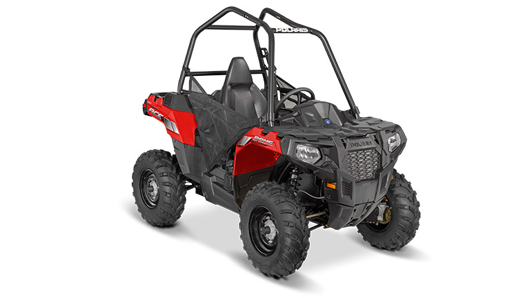 POLARIS® ACE® INDY RED