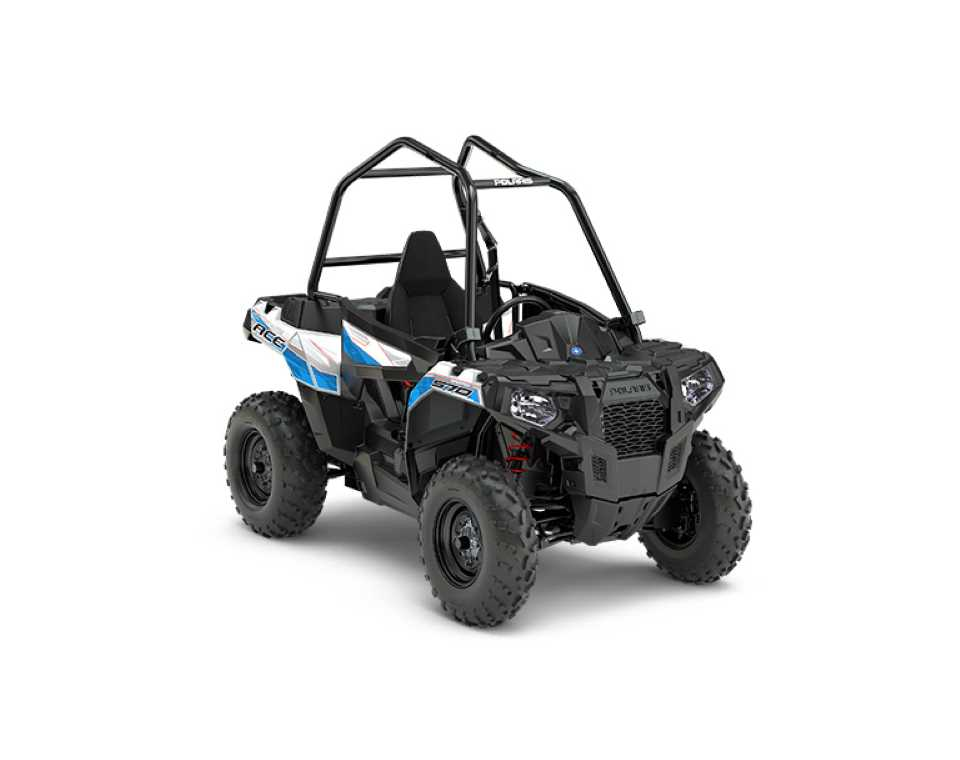 POLARIS ACE 570 WHITE LIGHTNING