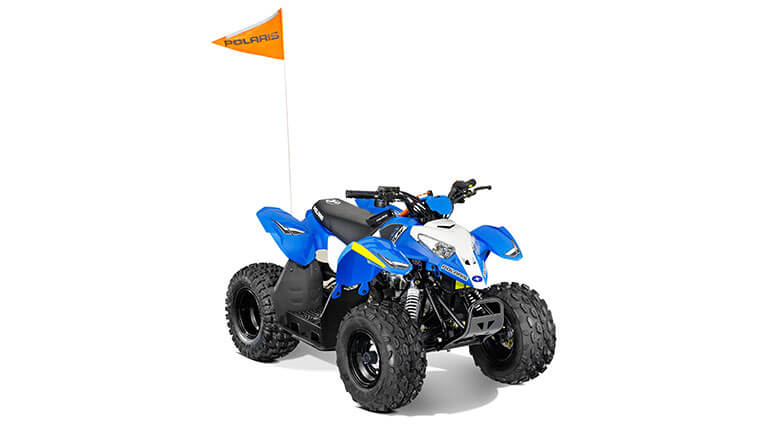 2014 Polaris Outlaw 90 VooDoo Blue | Polaris Sportsman
