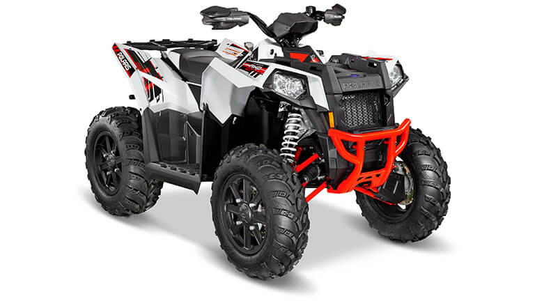 SCRAMBLER® XP 1000 EPS WHITE LIGHTNING