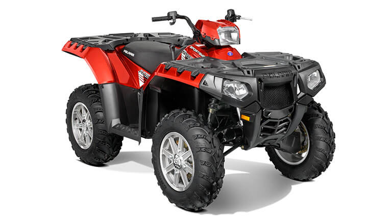 SPORTSMAN® 550 EPS SUNSET RED
