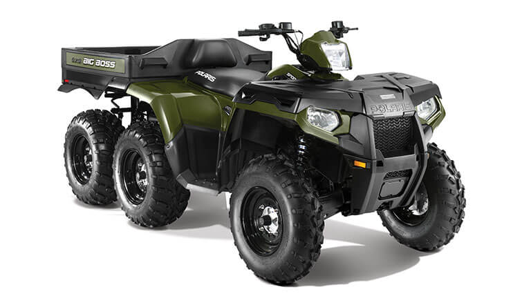 SPORTSMAN® BIG BOSS® 6X6 800 EFI SAGE GREEN