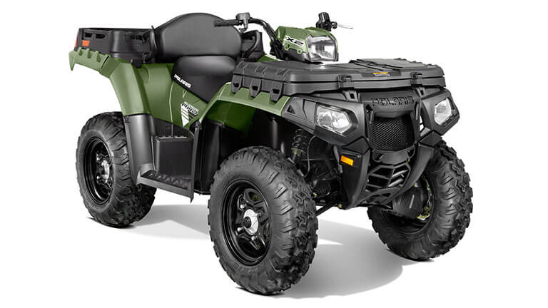 SPORTSMAN® X2 550 EPS SAGE GREEN