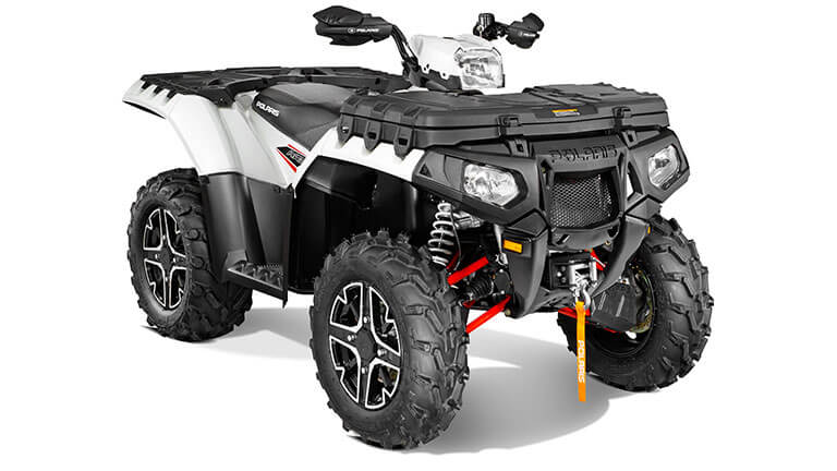 SPORTSMAN® XP 850 H.O. EPS PEARL WHITE LE