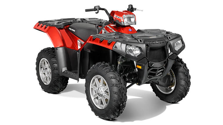 SPORTSMAN® XP 850 H.O. EPS SUNSET RED