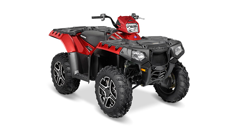 SPORTSMAN® 850 SP SUNSET RED