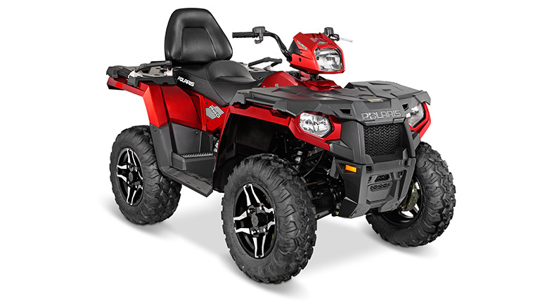 SPORTSMAN ® TOURING 570 SP SUNSET RED