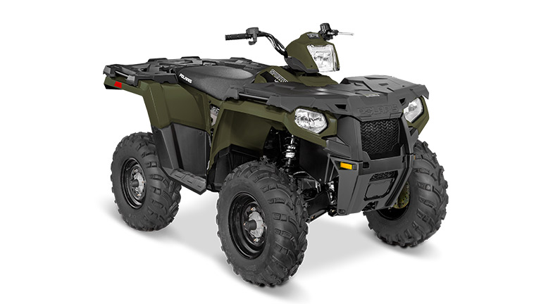SPORTSMAN® 450 H.O. EPS SAGE GREEN