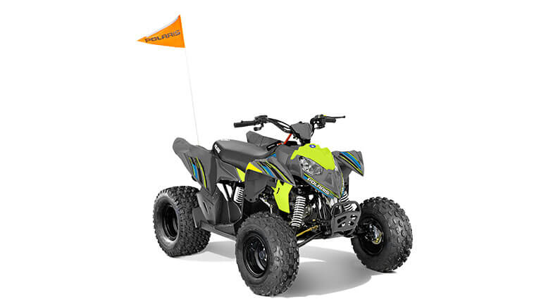 OUTLAW® 110 EFI AVALANCHE GREY/LIME SQUEEZE
