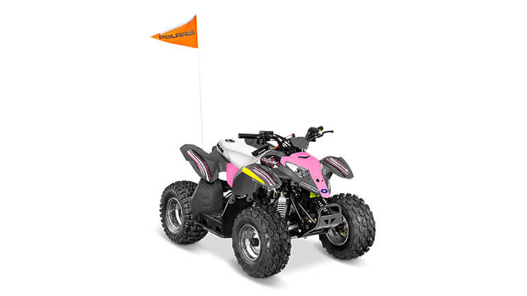 OUTLAW® 50 AVALANCHE GREY/PINK POWER