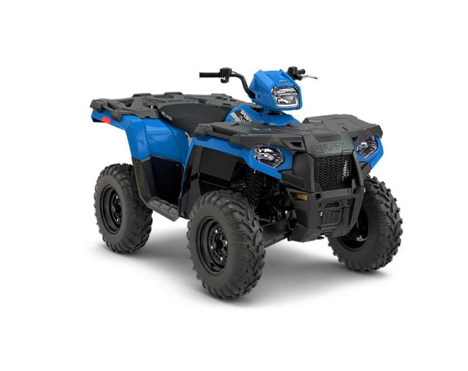 Sportsman 450 H.O. EPS Velocity Blue