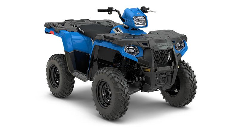 SPORTSMAN® 450 H.O. EPS VELOCITY BLUE