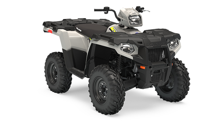 SPORTSMAN® 450 H.O. EPS GHOST GRAY