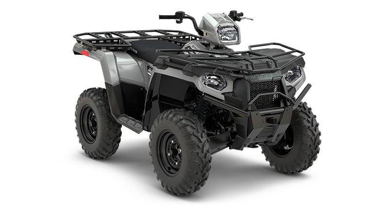 SPORTSMAN® 450 H.O. UTILITY EDITION GHOST GRAY