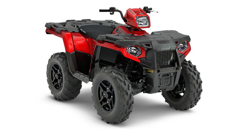 SPORTSMAN® 570 SP SUNSET RED