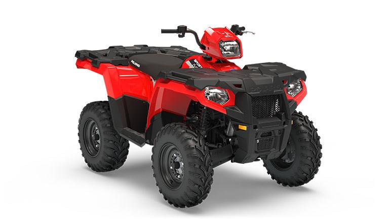 Sportsman 450 H.O. EPS Indy Red