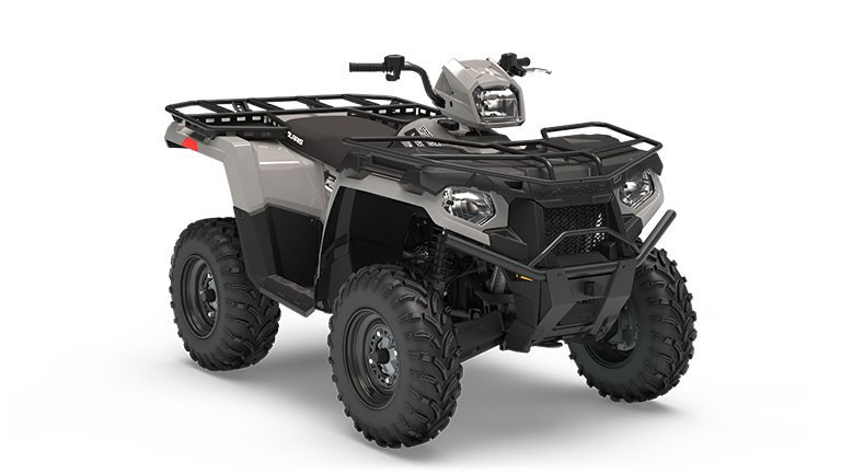 Sportsman 450 H.O. EPS Utility Edition Ghost Gray