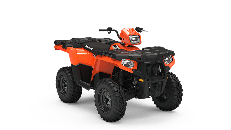 Sportsman 450 H.O. EPS Orange Burst