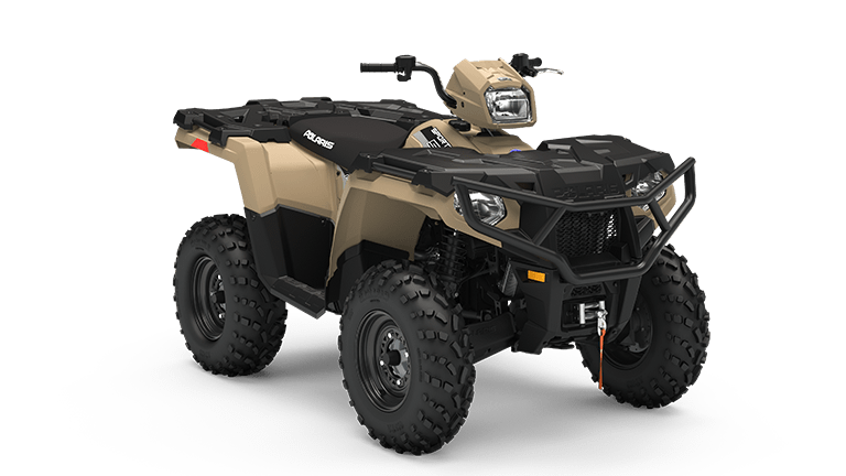 sportsman 570 eps military tan premium edition