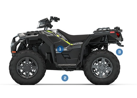2020 Polaris Sportsman XP 1000 VTT | Polaris FR-CA