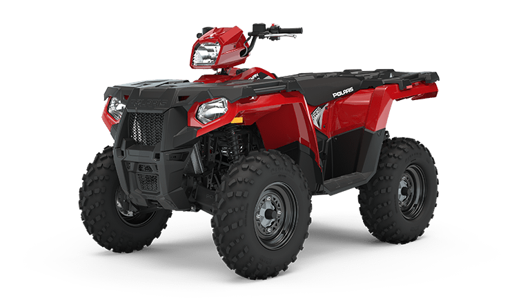 Sportsman 570 EPS Fury Red