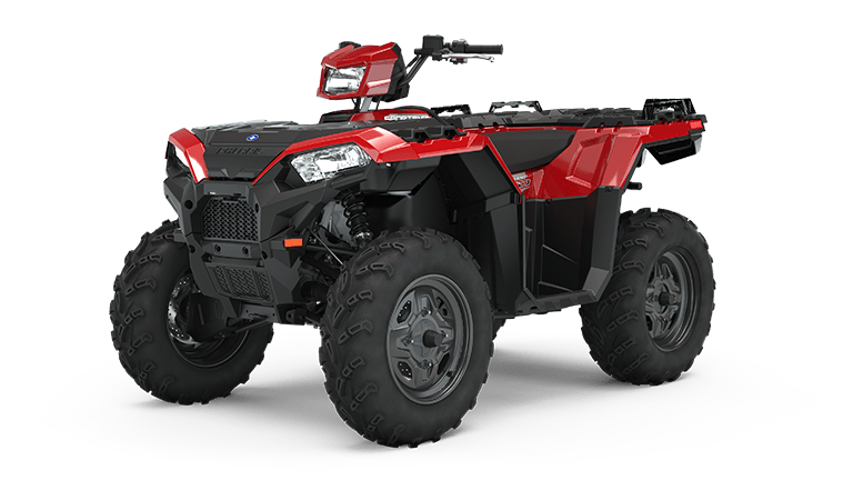 Sportsman 850 Fury Red