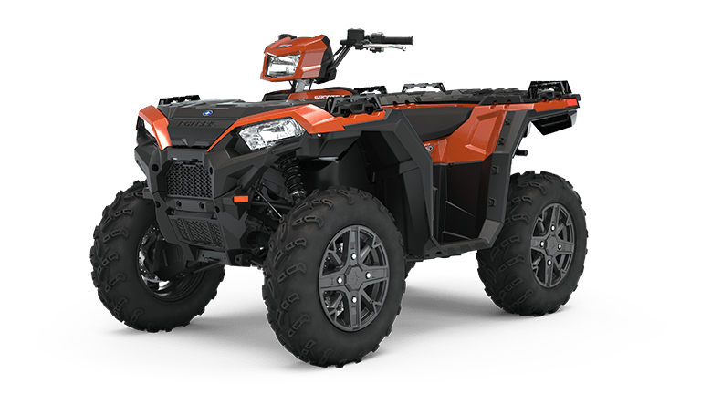 Sportsman 850 Premium Matte Orange Rust