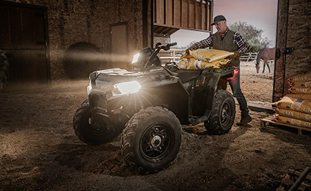 Storing Your ATV