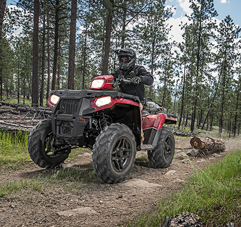 Polaris Sportsman off road