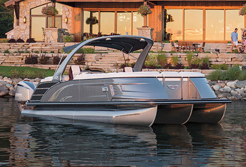 Pontoon Boats Tritoon Boats By Bennington Marine