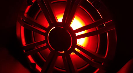 Illuminated speaker
