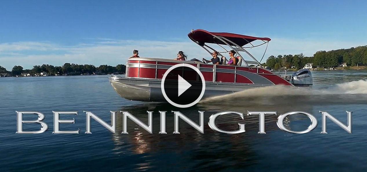 Bennington 2019 S, SX, & SX Premium Pontoon Boats