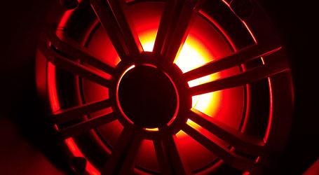 Pic of lighted speaker