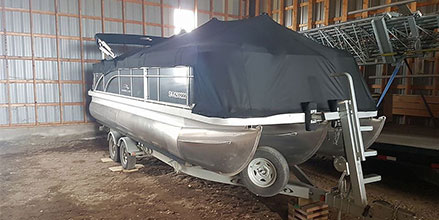 Storing Your Pontoon Boat for the Winter | Bennington Marine
