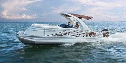 Fiberglass Pontoon Boats 2572-2575 QX 2016 Swingback 2