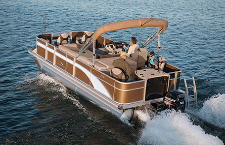 Meet the 2019 Bennington S Series Pontoon Boat