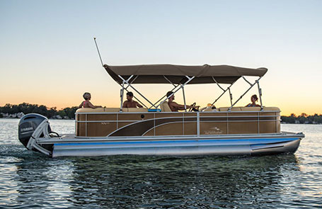 Meet the 2019 Bennington SX Series Pontoon Boat