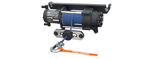 6000 Lb. Winch with Synthetic Rope