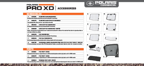 Pro xd Accessories Sell Sheet