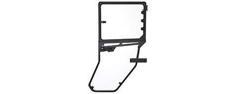 Rear ClearView Doors - 4000D Only