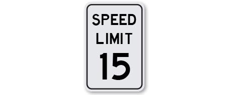Speed Limiter 15 MPH