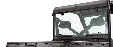 Tempered Glass Rear Panel
