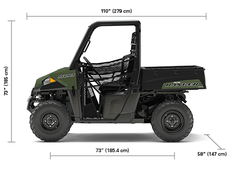 Ranger 500 4x2 Specifications