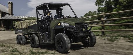 Ranger 570 designed for all-day riding comfort