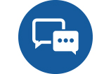 Image of a contact us icon