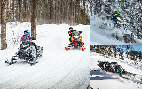 Polaris Snowmobiles Timbersled