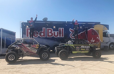Polaris Rzr® Factory Racing Triumphs At Laughlin Desert Classic