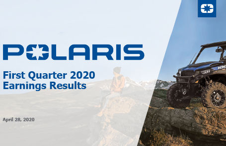 Polaris Reports 2020 First Quarter Results